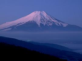 1月の山 富士山(静岡県・山梨県)