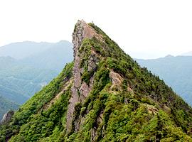 5月の山 石鎚山(愛媛県)