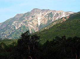 8月の山 白馬岳(長野県・富山県)