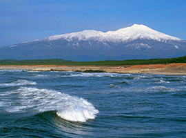 9月の山 鳥海山(山形県・秋田県)